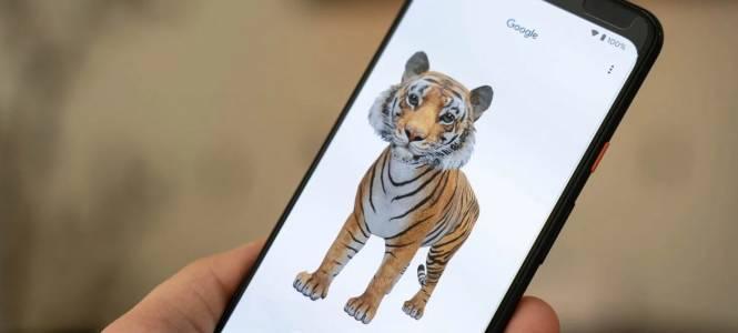 Зарадвайте малчугана у дома с 3D животните на Google (ВИДЕО)