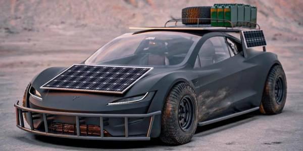 Tesla слага соларни покриви на колите си
