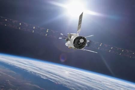 Земята дава гравитационно рамо на този апарат в пътя му до Меркурий