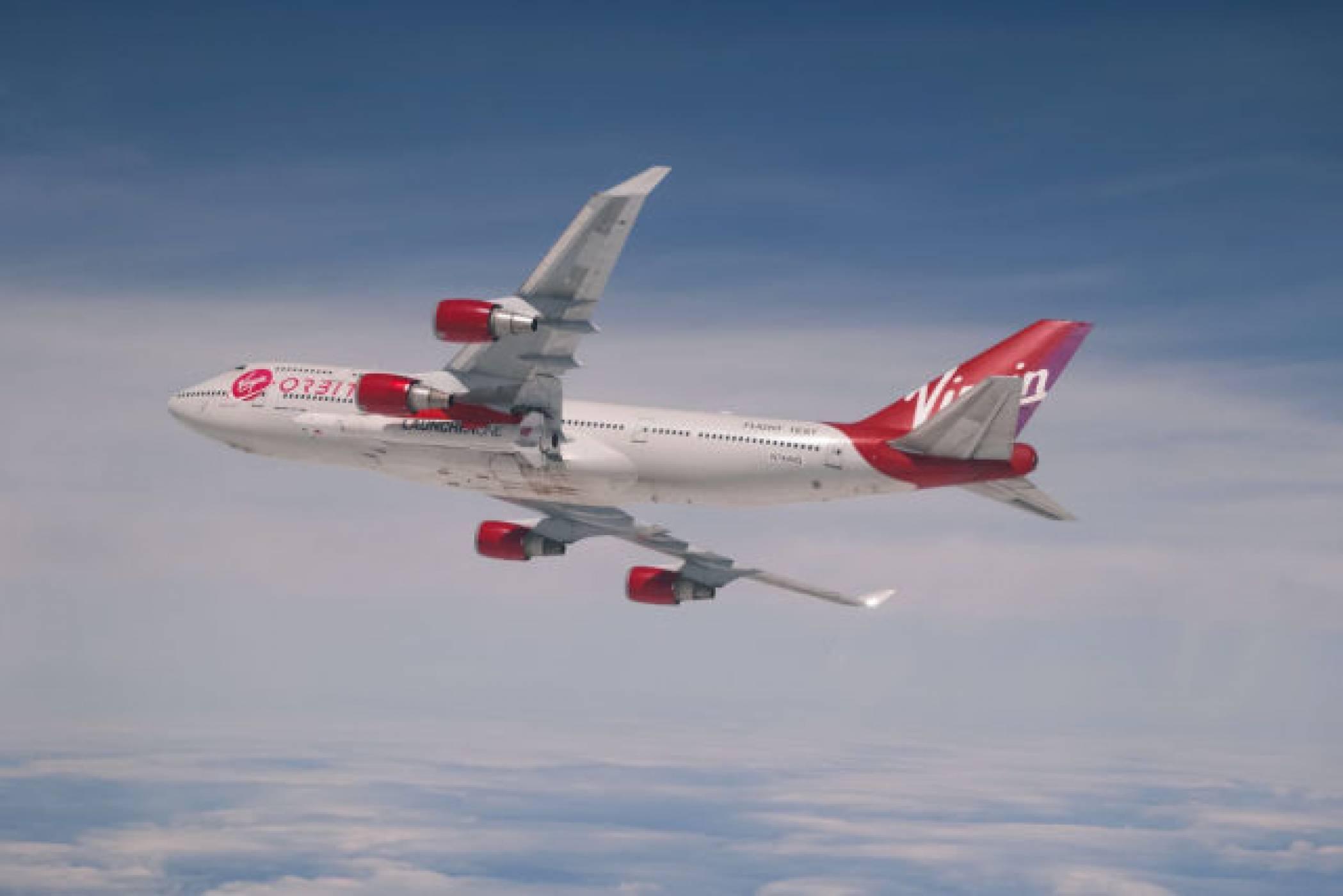 Самолетът ракетоносач на Virgin е все по-близо до първата си мисия