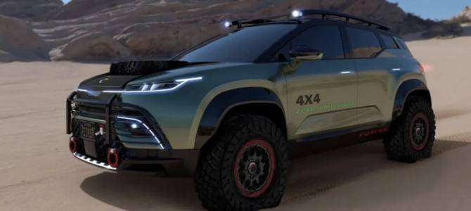 Новият офроуд прототип на Fisker не се нуждае от асфалт