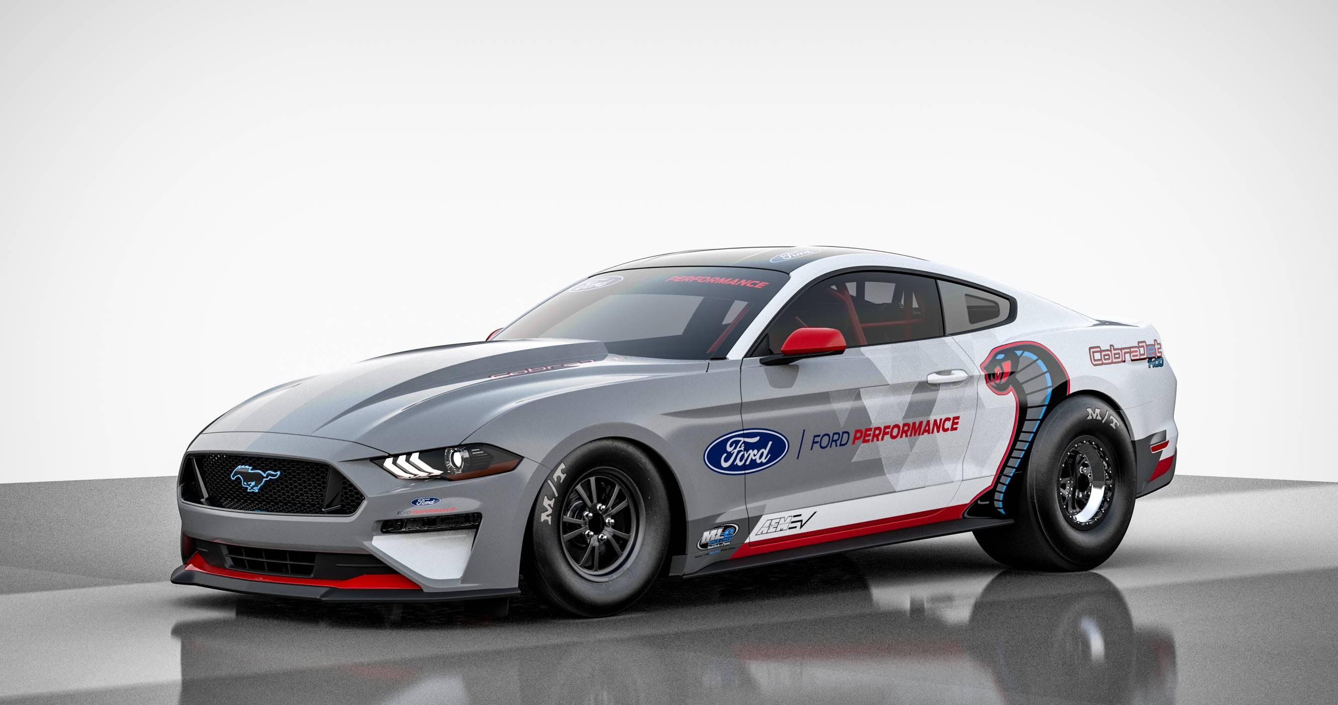 Нов електрически Mustang ще галопира с 1400 конски сили (ВИДЕО)