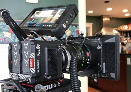 6К камерата на RED превръща дома в снимачна площадка (ВИДЕО)