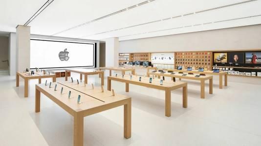 Първият магазин на Apple в Европа вече отваря врати