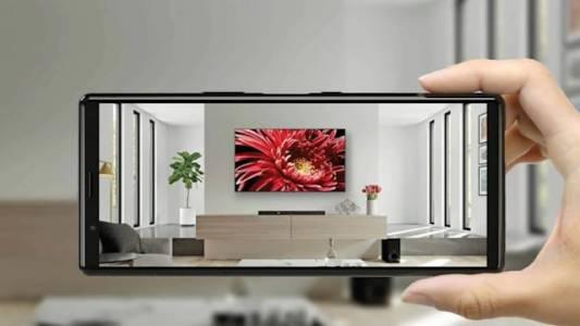 AR приложението на Sony показва дали новият ви телевизор ще се побере в стаята