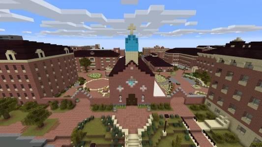 Абитуриенти броят до 12 в Minecraft (ВИДЕО)