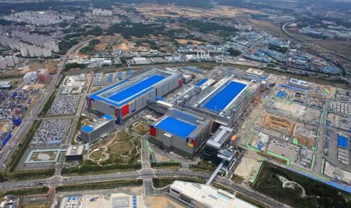 Samsung строи огромен завод, за да разшири възможностите си за производство