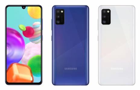 Samsung Galaxy А41 е официално в България