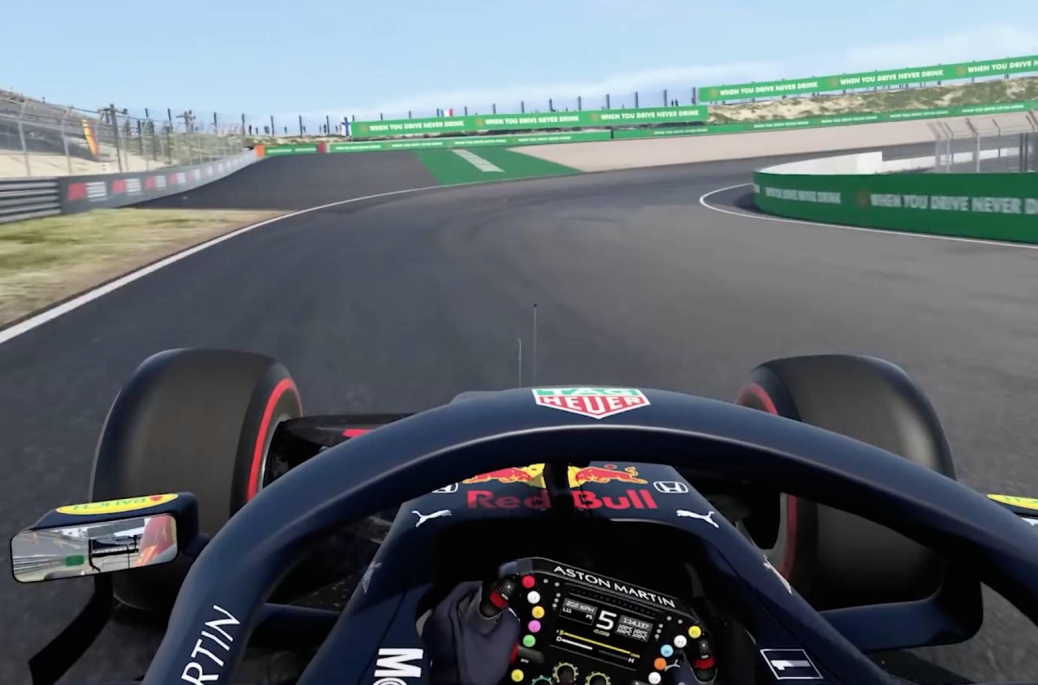 В F1 2020 ще караме на новата писта в Ханой преди пилотите от Ф1