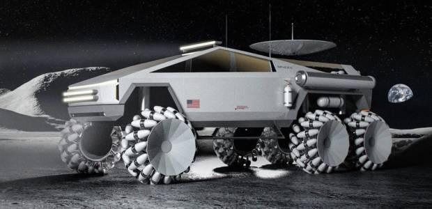 Tesla Cybertruck изглежда страхотно като луноход