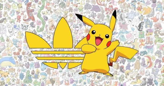 Adidas и Pokemon с необичайна колаборация