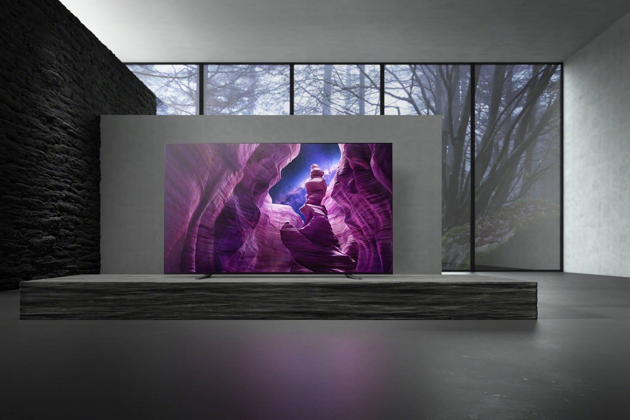 Новият телевизор A8 4K HDR OLED на Sony е в България (ВИДЕО)