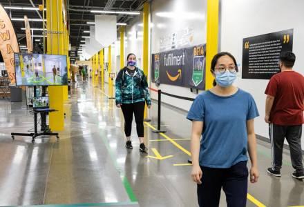 Amazon ще наблюдава служителите си за социална дистанция (ВИДЕО)