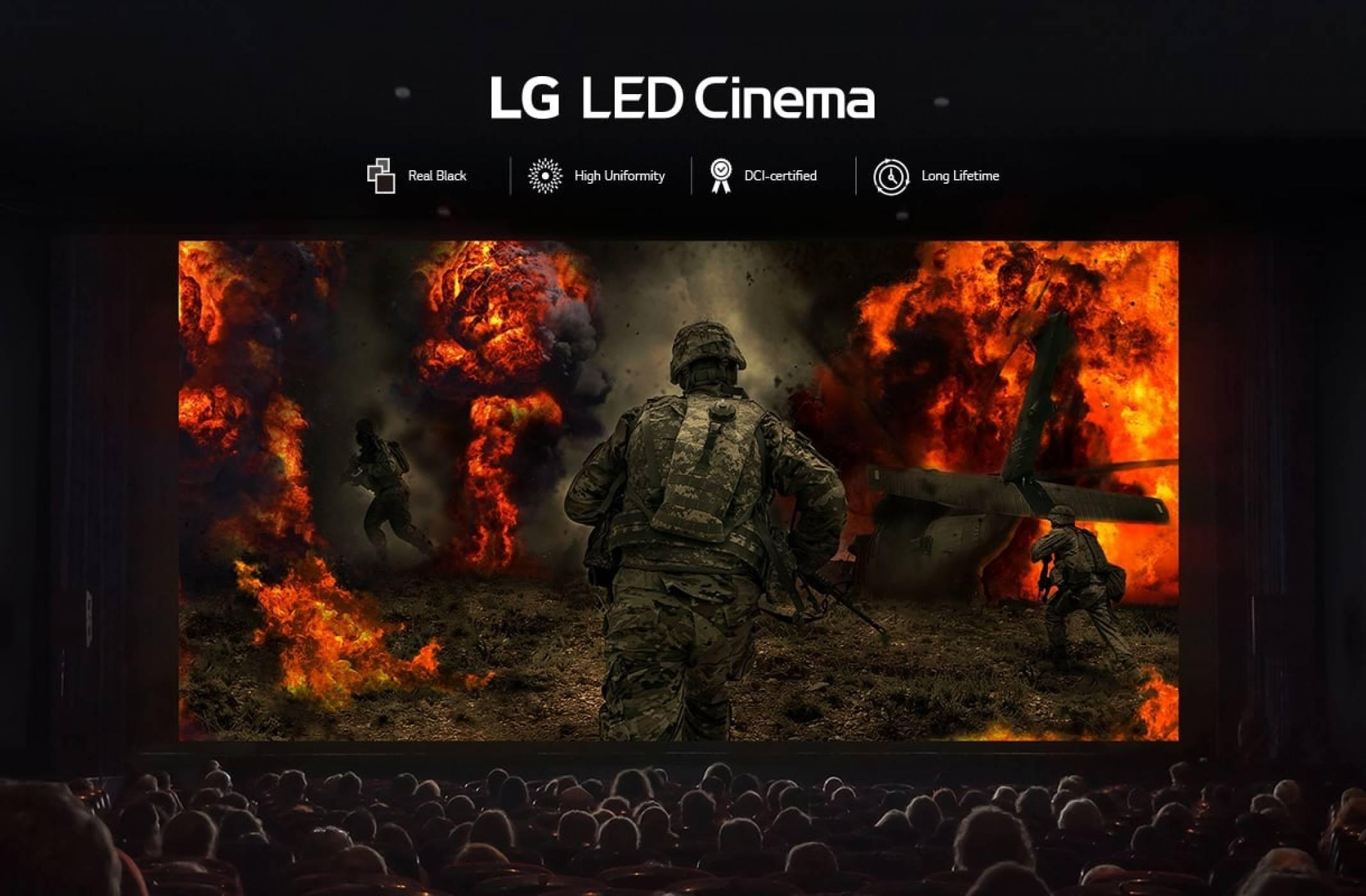 И LG вкарва OLED екрана в киносалона