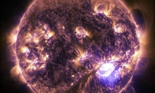 10 години от живота на Слънцето в един час (ВИДЕО)