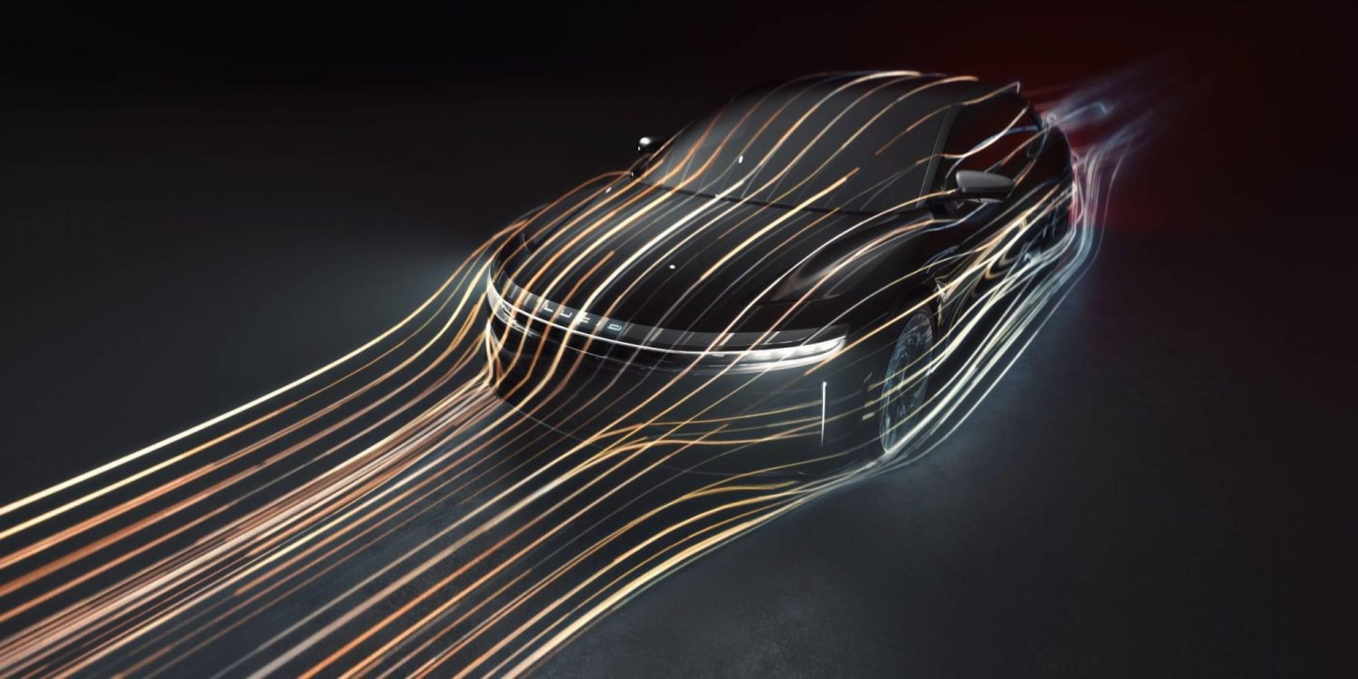 Lucid Air лети по-плътно по шосето от всеки един луксозен автомобил