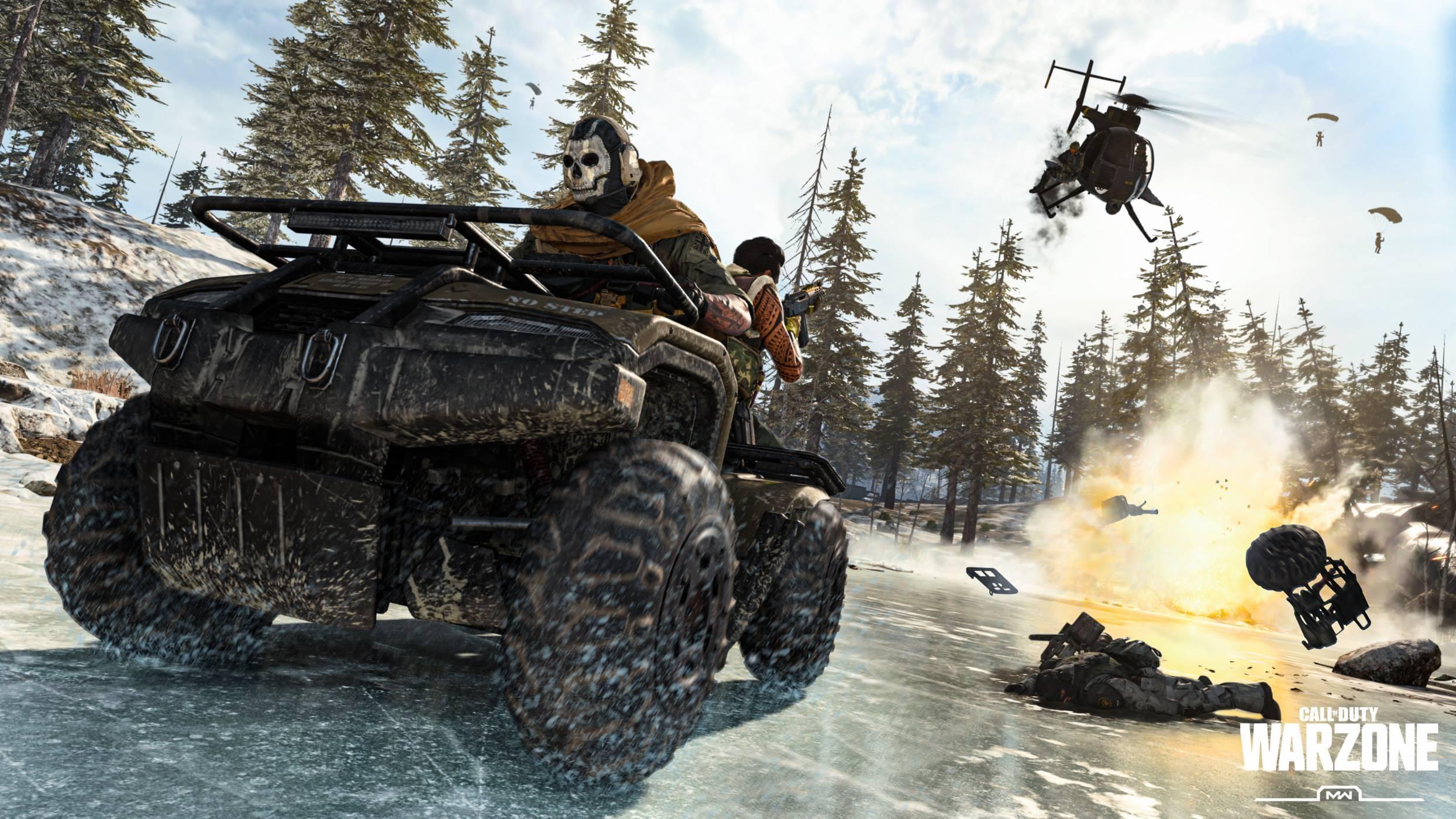 Call of Duty: Warzone предлага на играчите невиждано досега меле