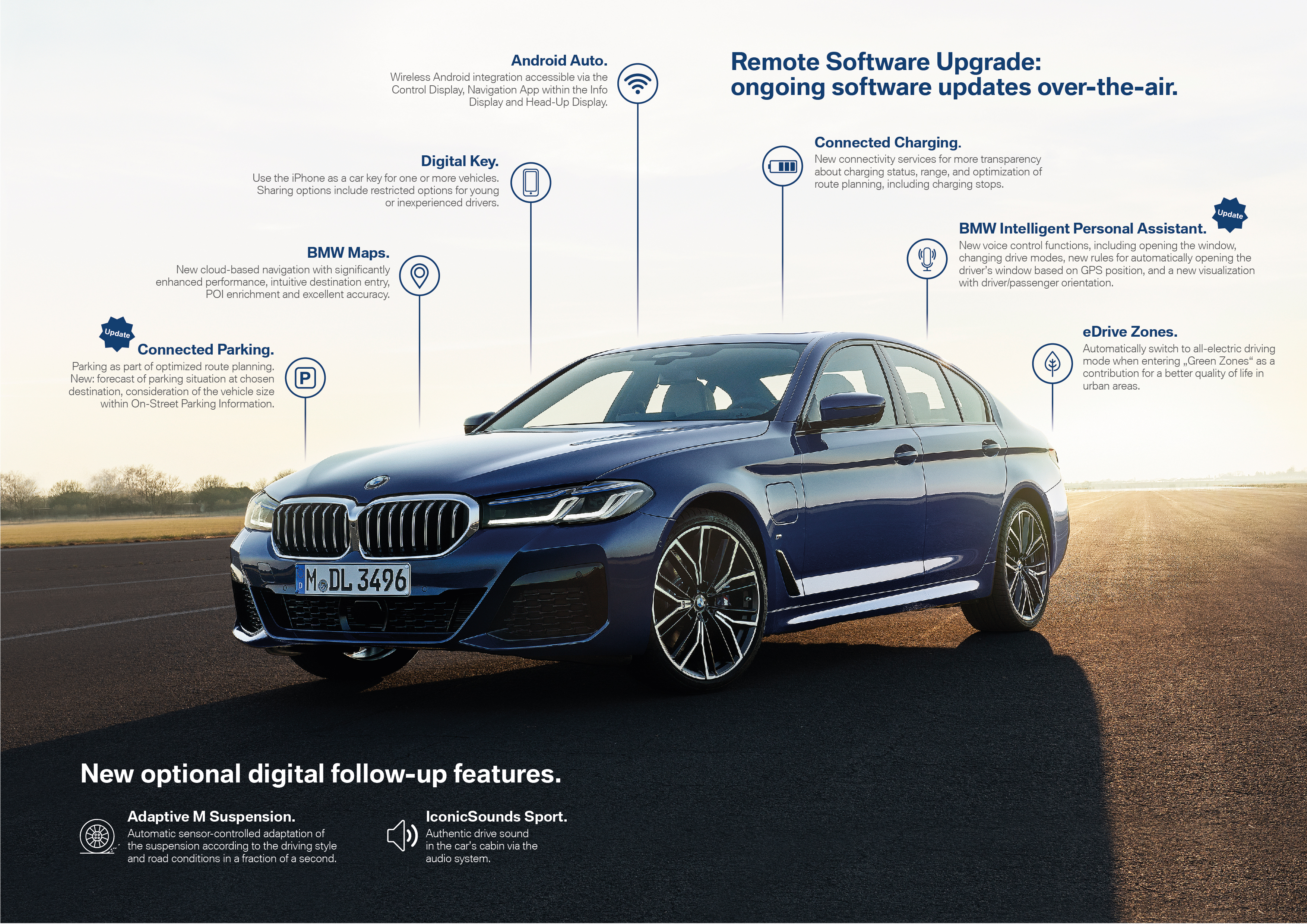 BMW ще предлага допълнителни екстри за автомобилите си чрез абонаменти