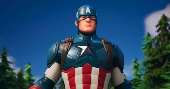 Captain America вече е в света на Fortnite (ВИДЕО)