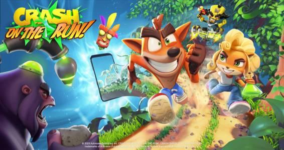Crash Bandicoot пристига на смартфона ви (ВИДЕО)