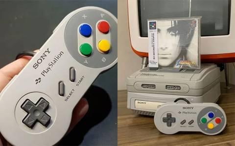 Вместо да похарчи цяло състояние за легендарния SNES PlayStation, един фен си го сглоби