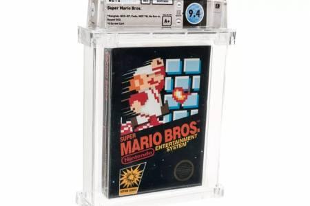 Запечатано копие на Super Mario Bros. разби рекорда за най-скъпа игра, продадена някога