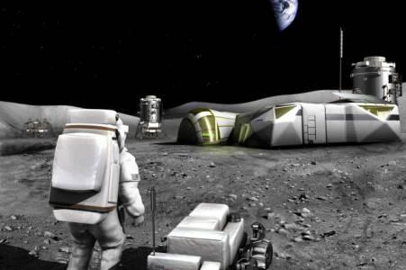 3D-принтираните лунни бази стават реалност