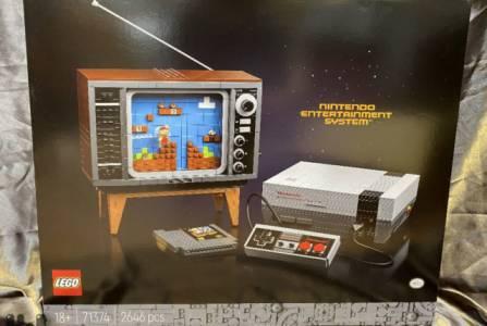 С този Lego комплект ще си сглобите истинска гейм конзола NES (ВИДЕО)