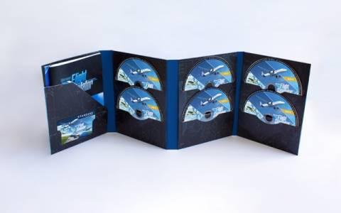 Можете да си купите Microsoft Flying Simulator на цели 10 диска, за да станете част от историята