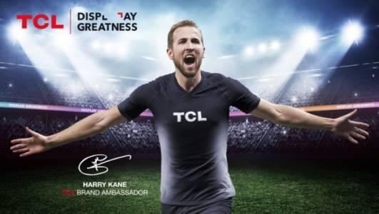 TCL представи футболната звезда Хари Кейн като посланик на марката