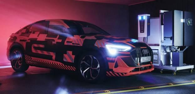 Audi тества зарядно между е-кола и соларния панел у дома