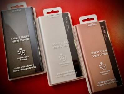Антимикробен калъф за Galaxy Note 20 Ultra 5G е най-актуалният аксесоар за флагмана
