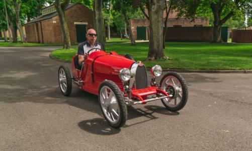 Първата е-кола на Bugatti е автомобил играчка с цена 35 000 долара