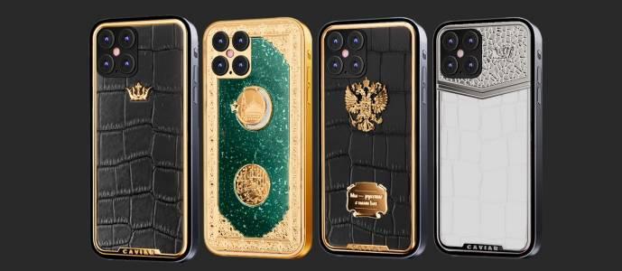Този iPhone 12 със злато и диаманти със сигурност ще ви отличи