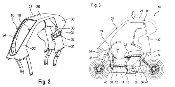 Този eлектрически скутер на BMW не отстъпва по нищо на градска кола