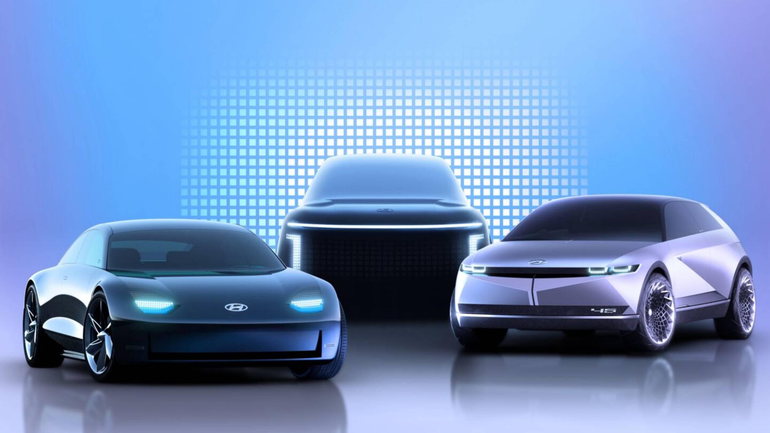 Hyundai пуска 3 футуристични електрически коли, започвайки още от догодина (ВИДЕО + СНИМКИ)