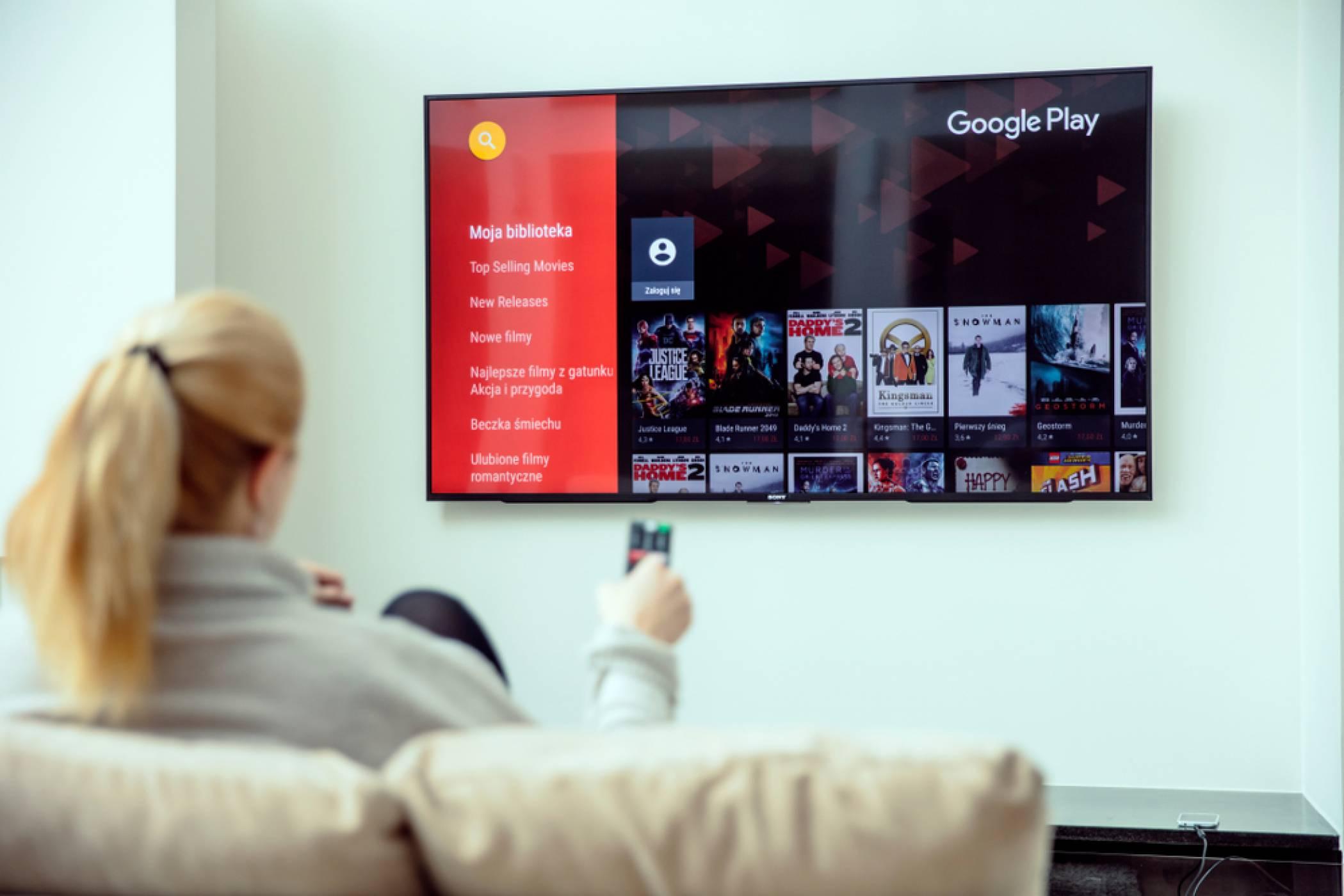 Android TV с над 7000 приложения и поддръжка от топ производителите