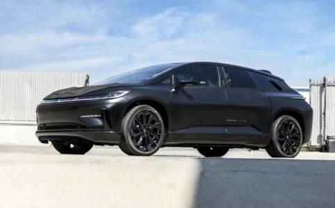Рекордьорите е-прототипи на Faraday Future отиват на търг