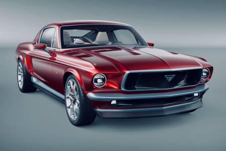 Какво става, когато кръстосаме Tesla Model S и Ford Mustang от 1967 г.? (СНИМКИ)
