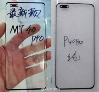 Прорезите на дисплея на Huawei Mate 40 Pro ще бъдат наистина мънички