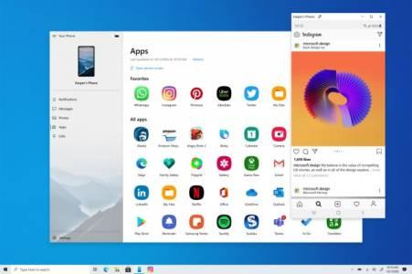 Windows 10 вече пуска приложения от вашия Samsung смартфон