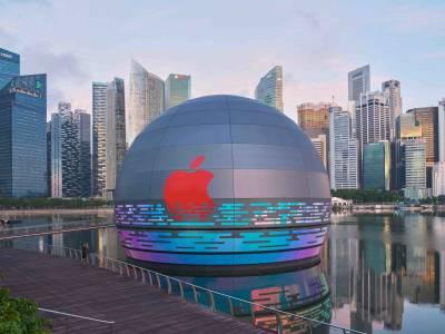 Този Apple Store е шедьовър на архитектурата (СНИМКИ)
