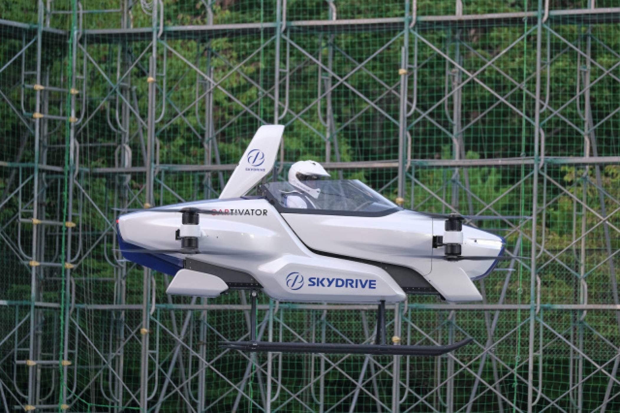 Вижте полета на тази летяща кола, подкрепена от Toyota (ВИДЕО)