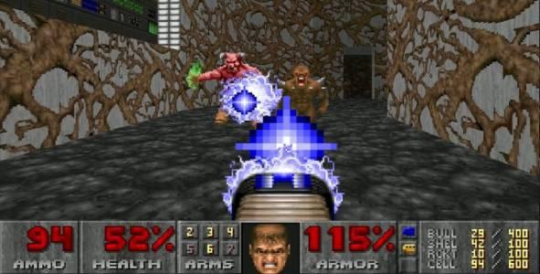 27 години по-късно Doom вече изглежда на място на новия ви телевизор
