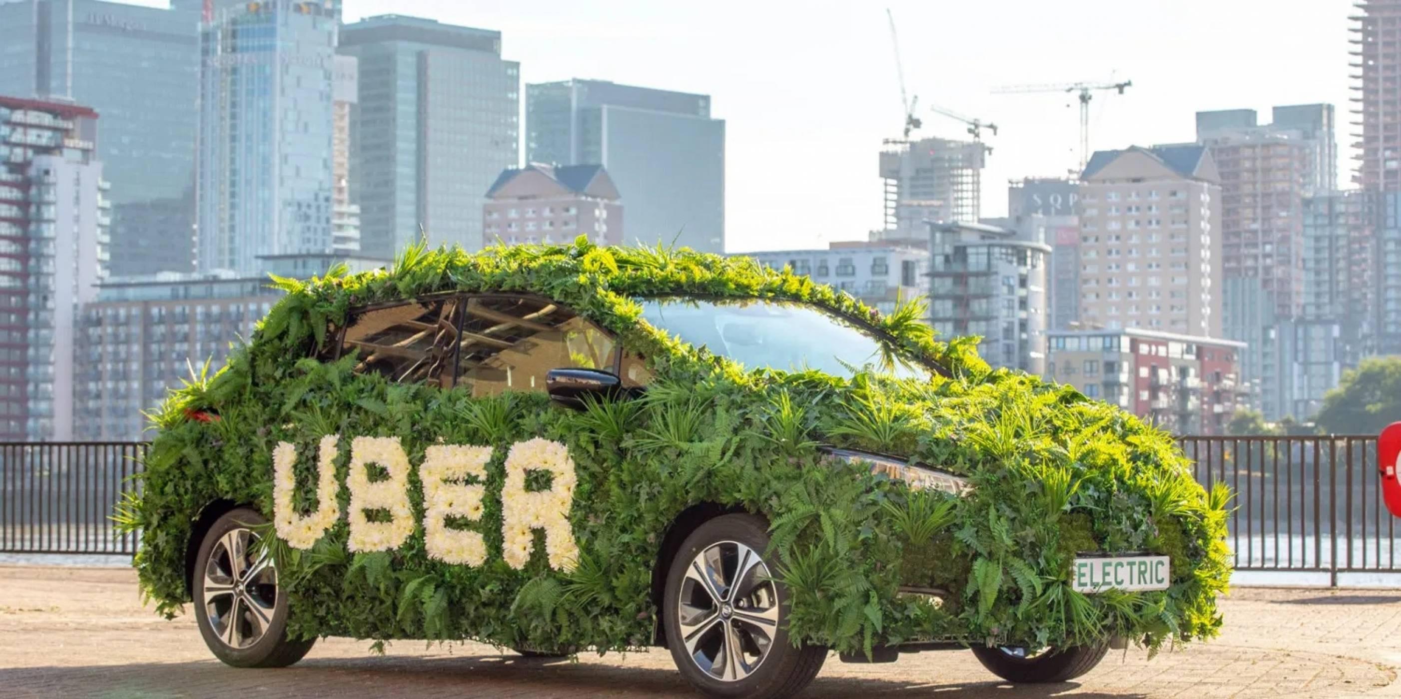 Uber тръгва към електрическо бъдеще, макар и бавно