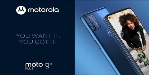 Представяме ви новия moto g9 plus