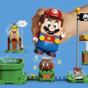 LEGO Марио става джойстик за играта Super Mario (ВИДЕО)