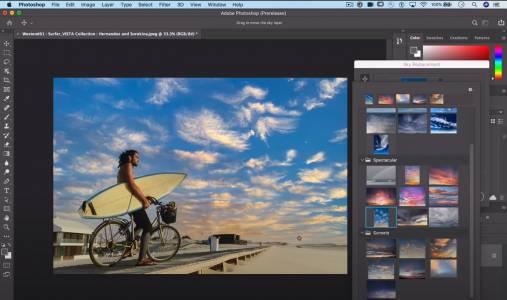 Улеснение за инфлуенсърите – Photoshop вече има опция за идеално небе (ВИДЕО)