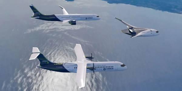 Този самолет на водородно гориво от Airbus може да ви вози през 2035 г. (ВИДЕО)