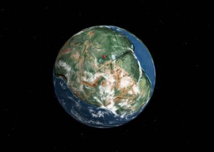 Вижте как е изглеждал градът ви по време на ерата на динозаврите